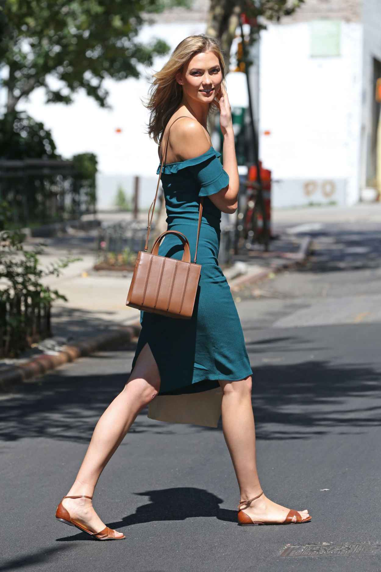 Karlie Kloss Summer Style - Out in NYC, July 2015-3