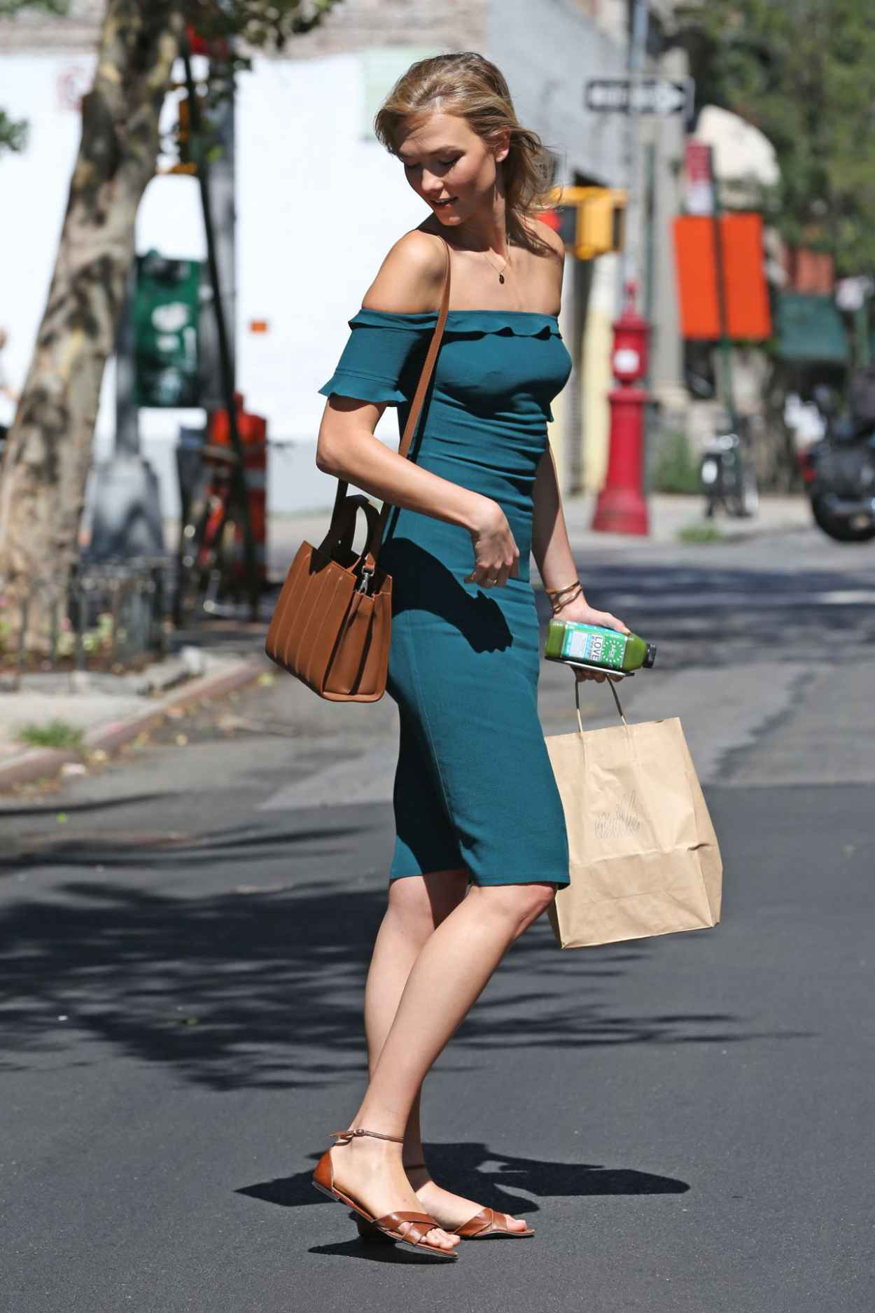 Karlie Kloss Summer Style - Out in NYC, July 2015-4