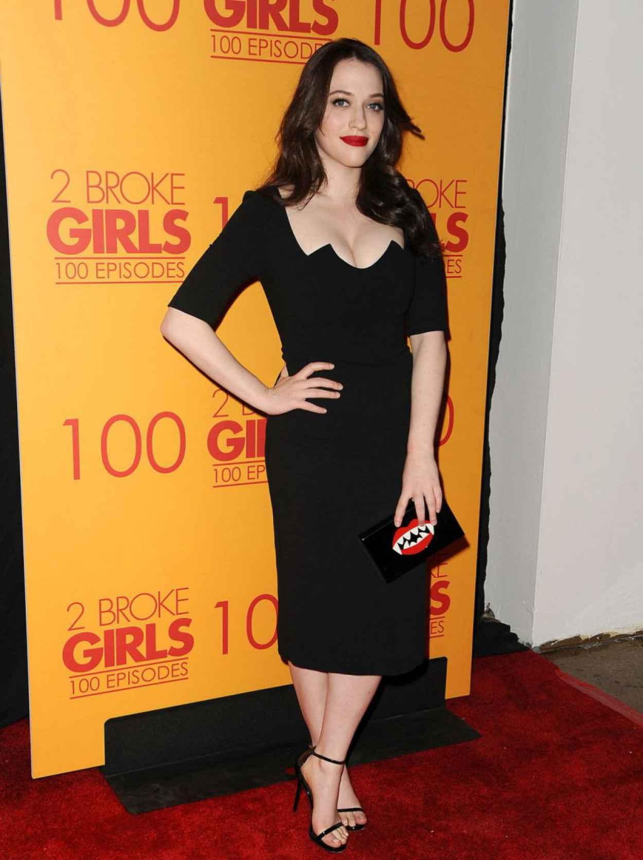 Kat Dennings - 2 Broke Girls 100th Episode Celebration in Los Angeles-5