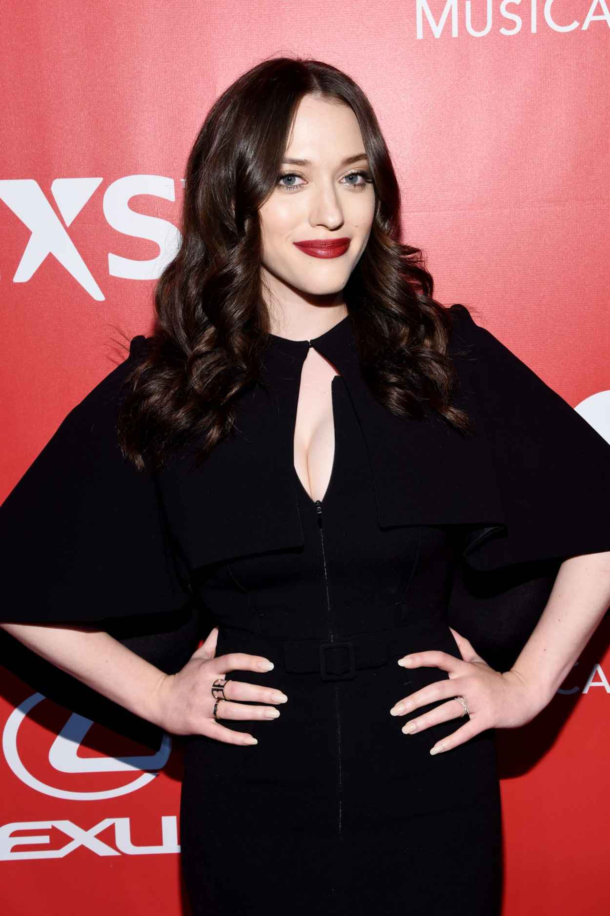 Kat Dennings - 2015 MusiCares Person Of The Year Gala Honoring Bob Dylan in Los Angeles-1