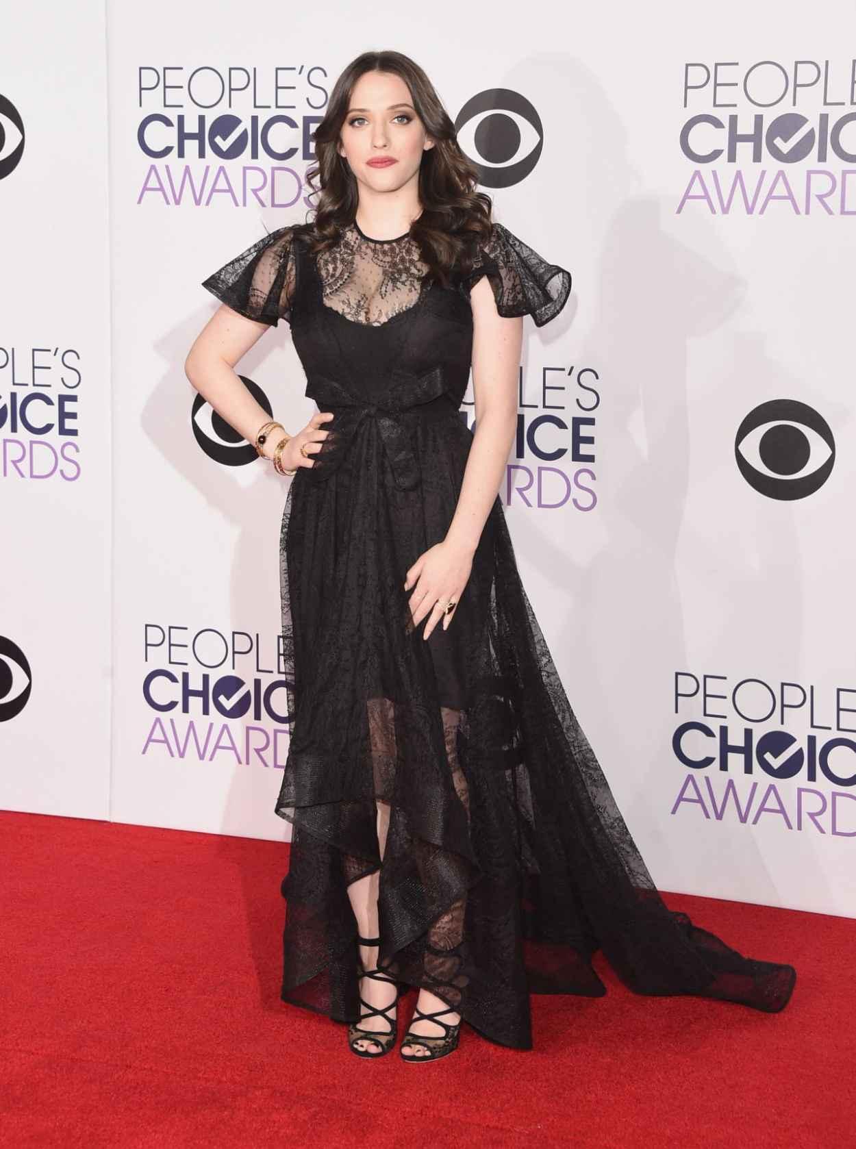 Kat Dennings - 2015 People-s Choice Awards in Los Angeles-2