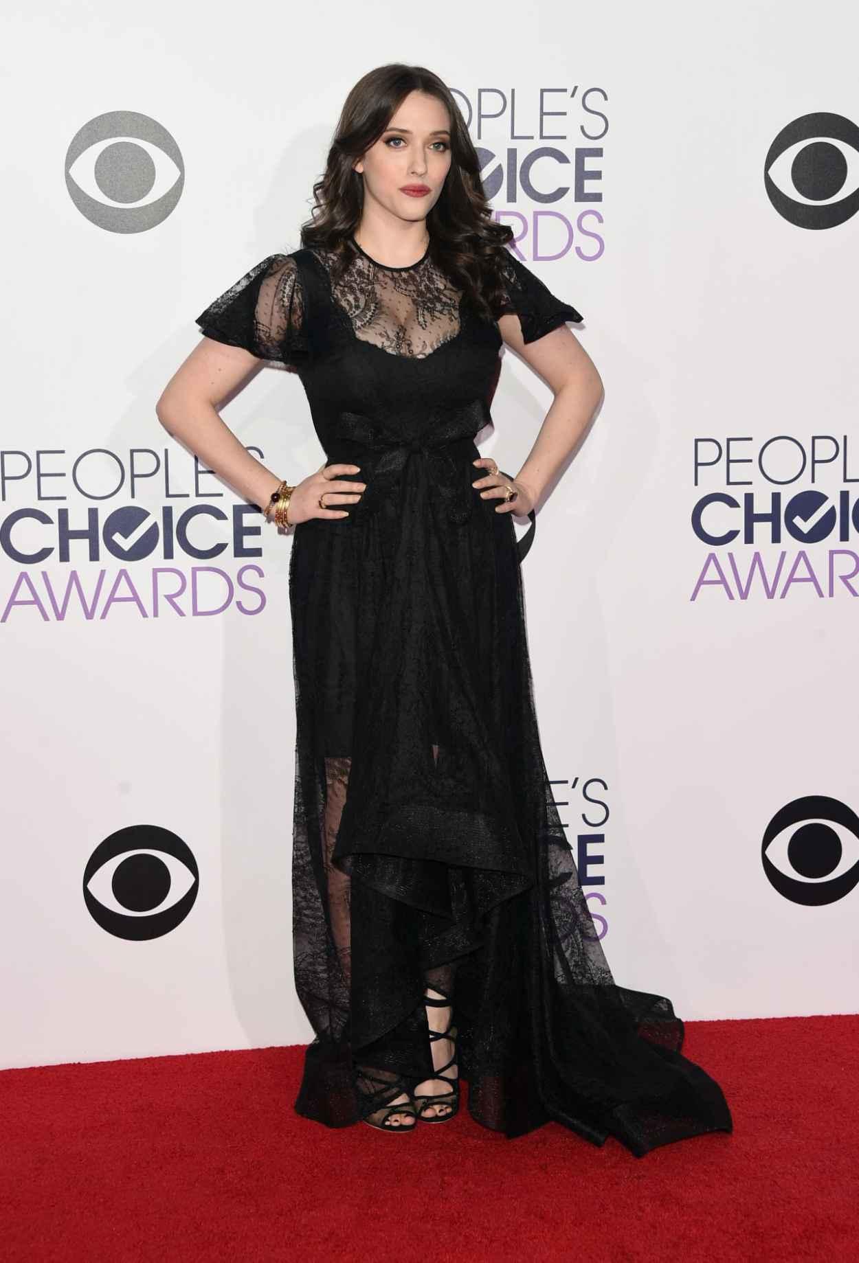 Kat Dennings - 2015 People-s Choice Awards in Los Angeles-3