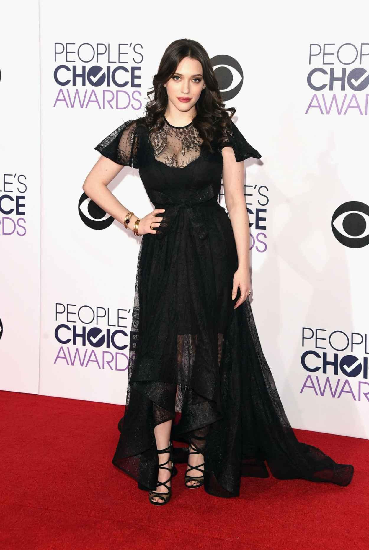 Kat Dennings - 2015 People-s Choice Awards in Los Angeles-4