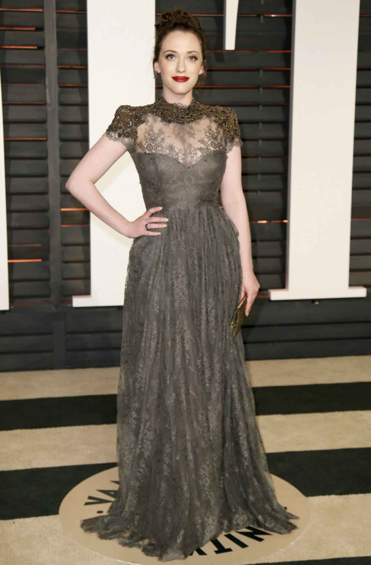 Kat Dennings - 2015 Vanity Fair Oscar Party in Hollywood-2
