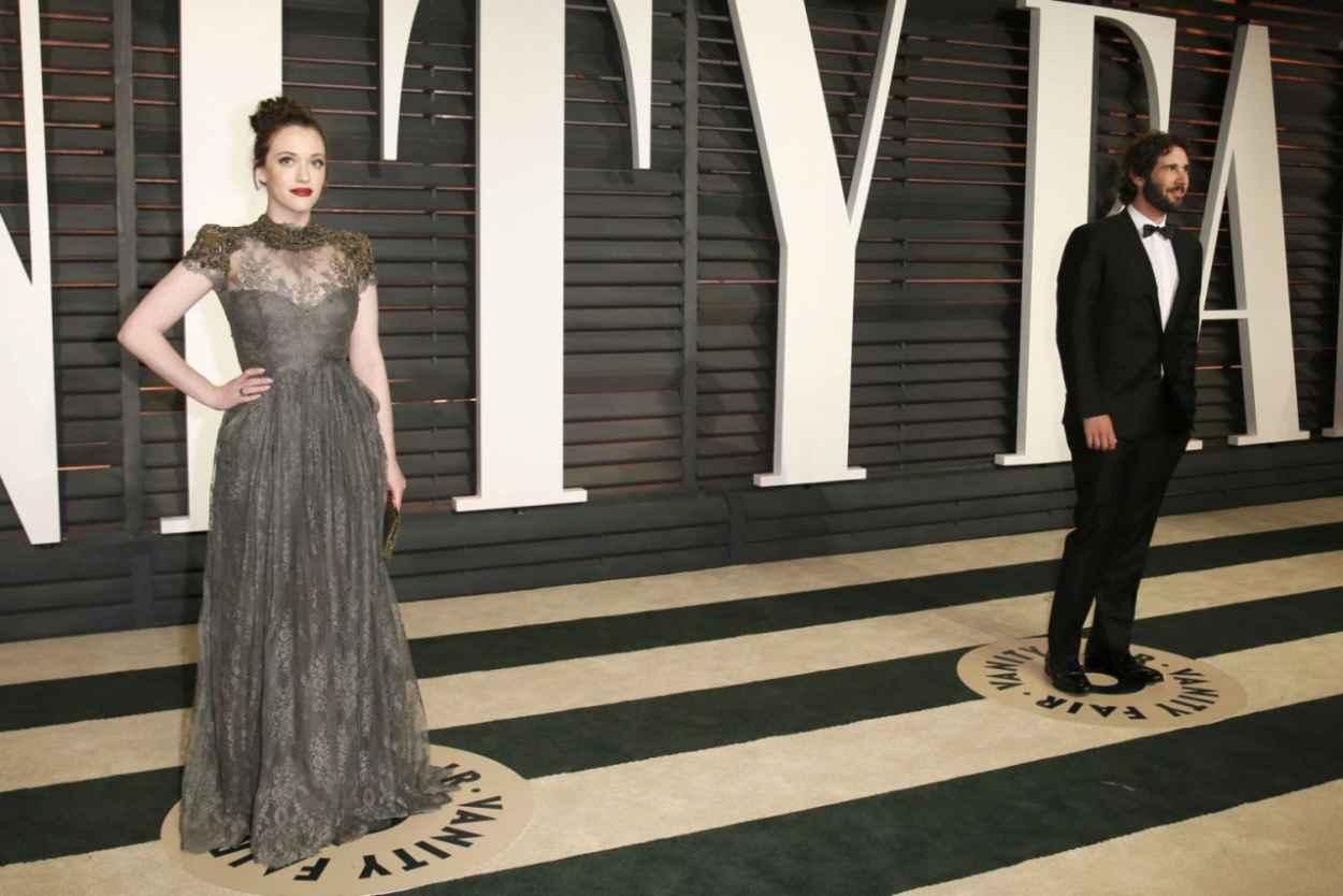 Kat Dennings - 2015 Vanity Fair Oscar Party in Hollywood-3