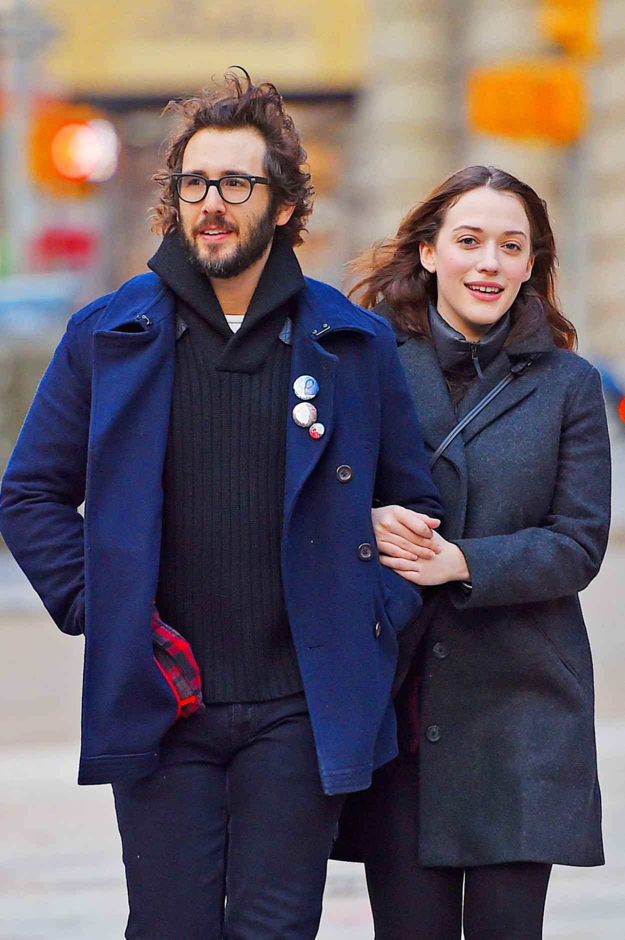 Kat Dennings Casual Style - Out in New York City - December 2015-1