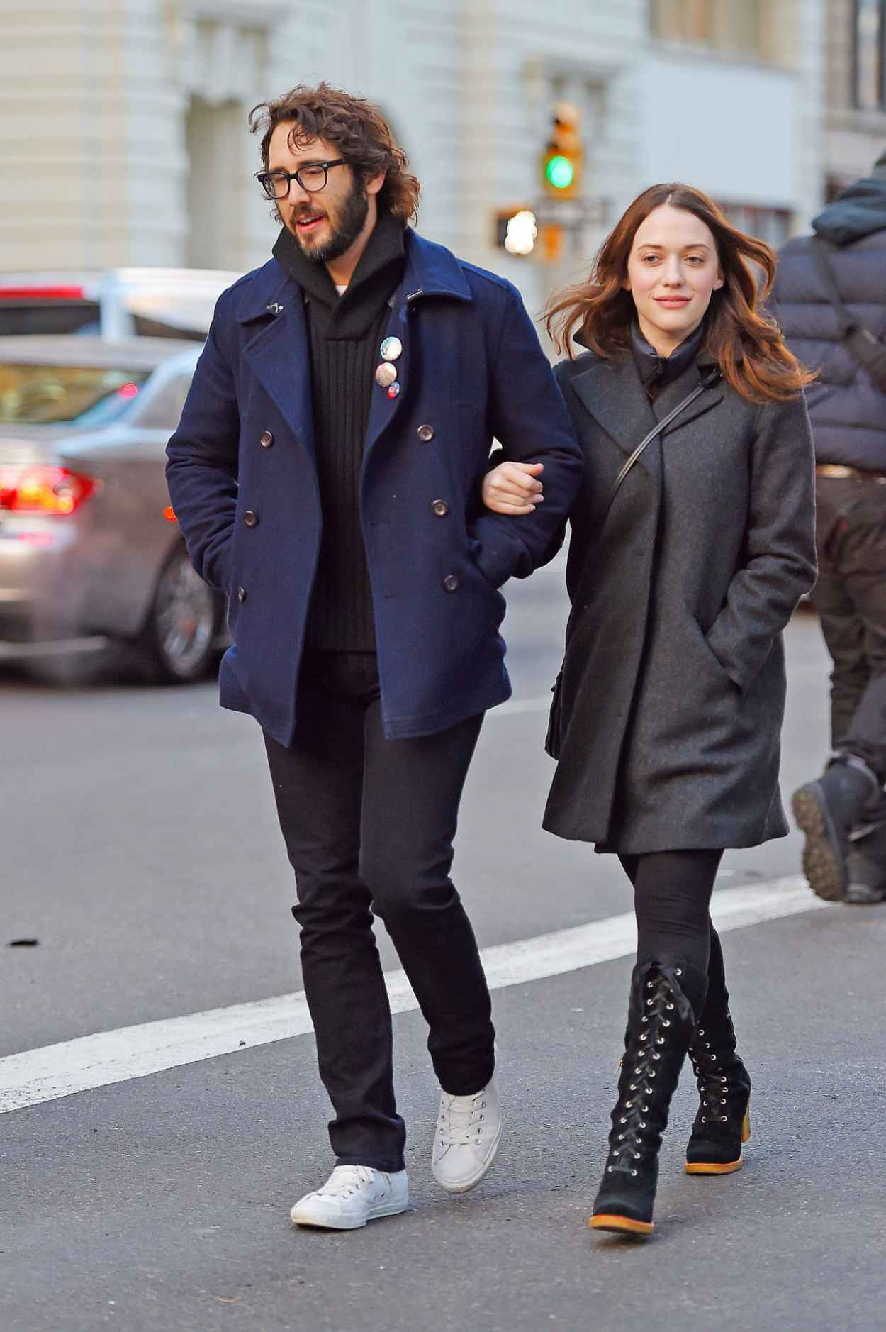 Kat Dennings Casual Style - Out in New York City - December 2015-3