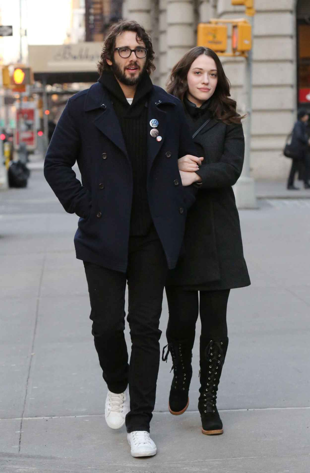 Kat Dennings Casual Style - Out in New York City - December 2015-5
