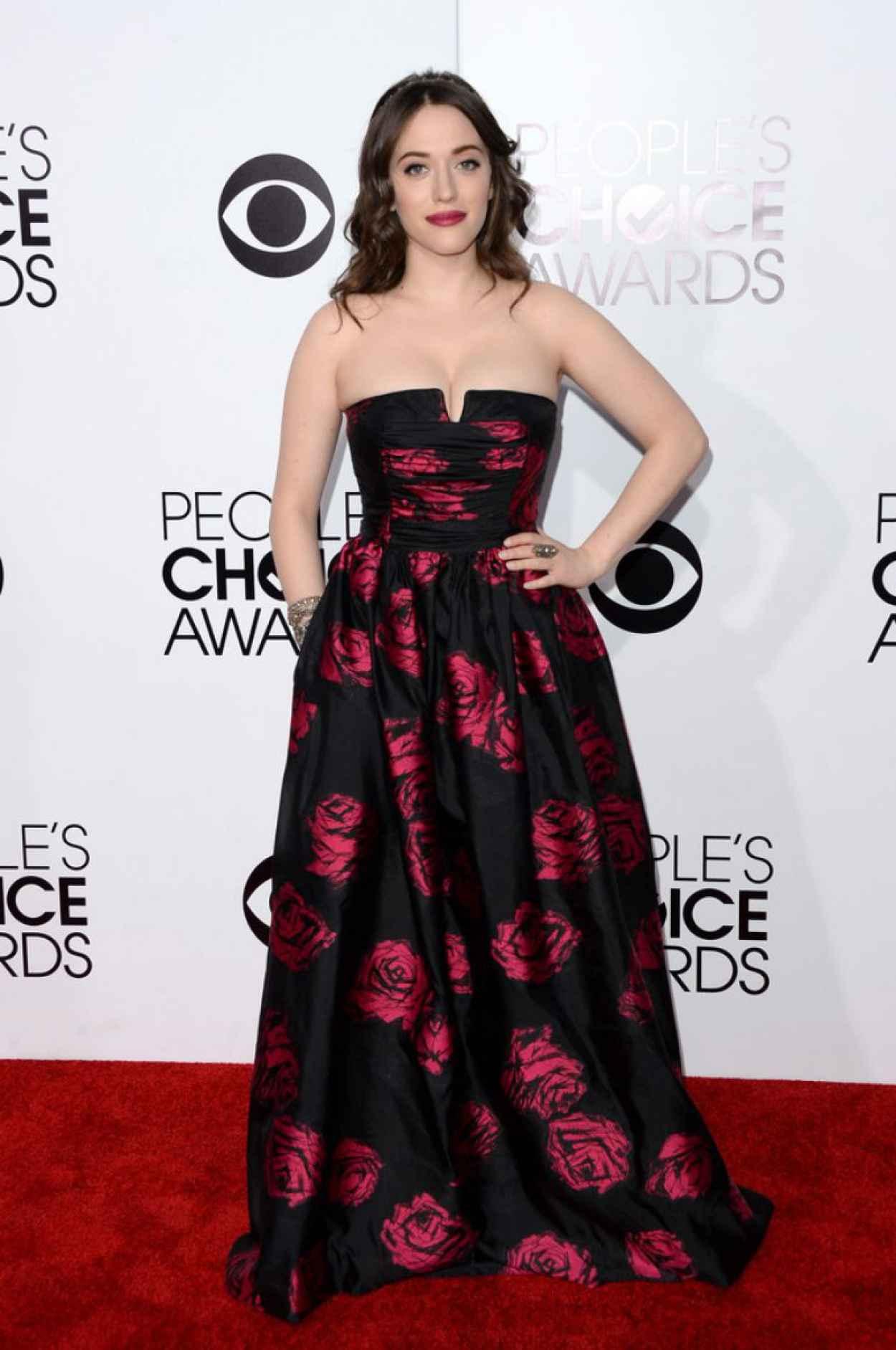 Kat Dennings in David Meister - 2015 People-s Choice Awards-1