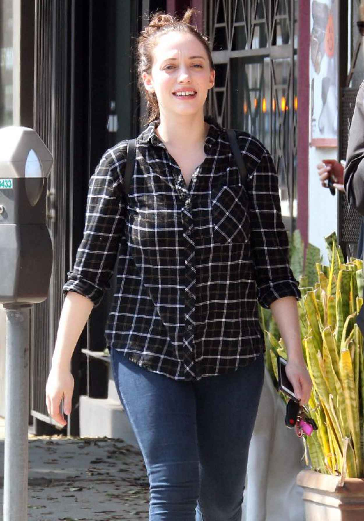 Kat Dennings - Out in West Hollywood, October 2015-1