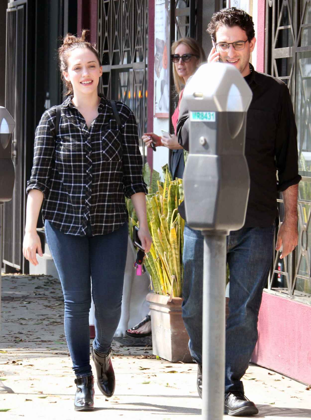 Kat Dennings - Out in West Hollywood, October 2015-5
