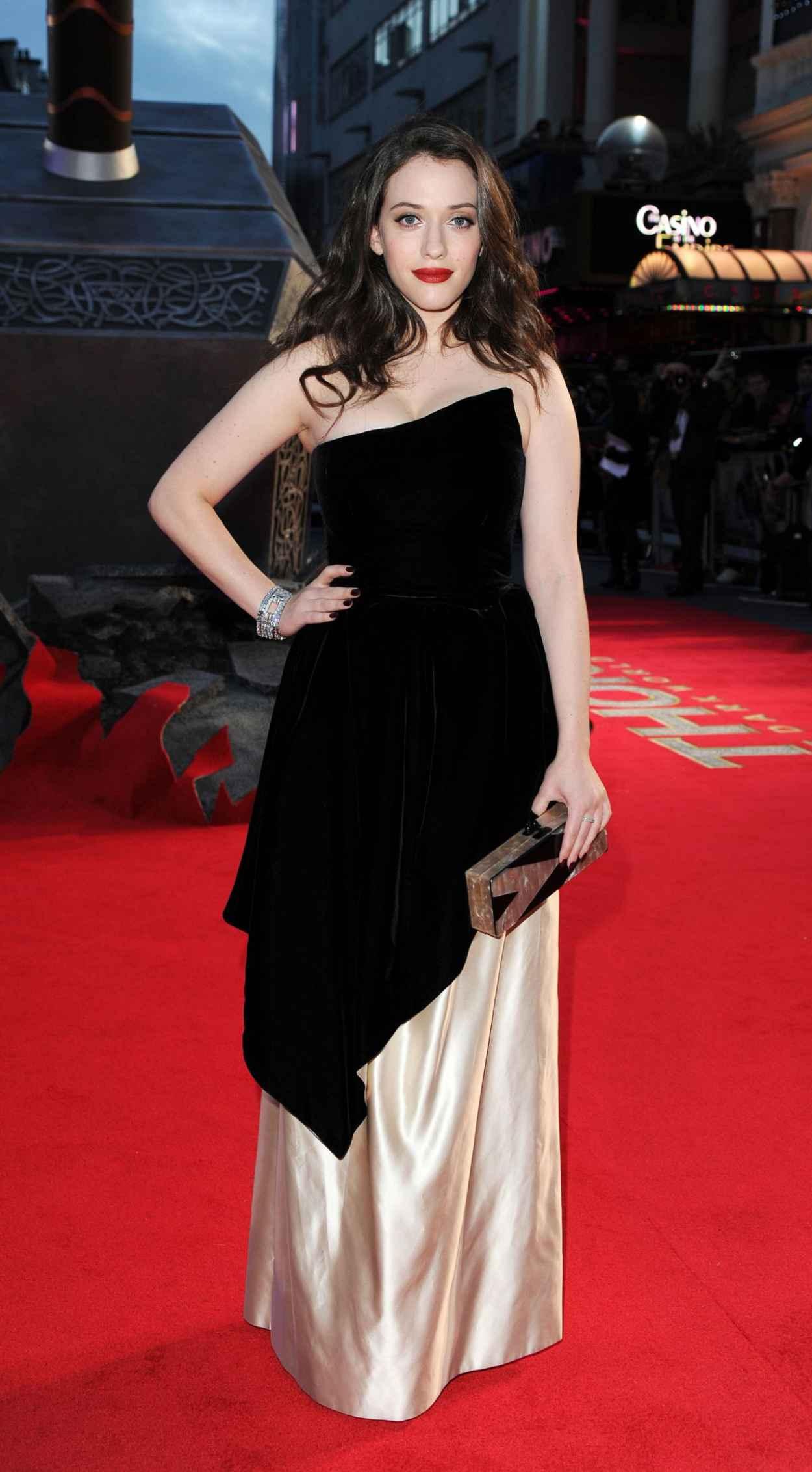 Kat Dennings - THOR: THE DARK WORLD Red Carpet in London-1