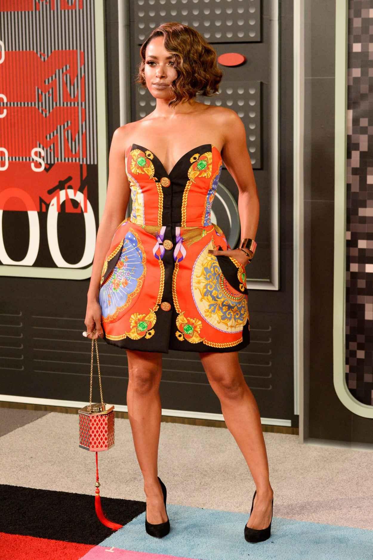 Kat Graham - 2015 MTV Video Music Awards at Microsoft Theater in Los Angeles-2