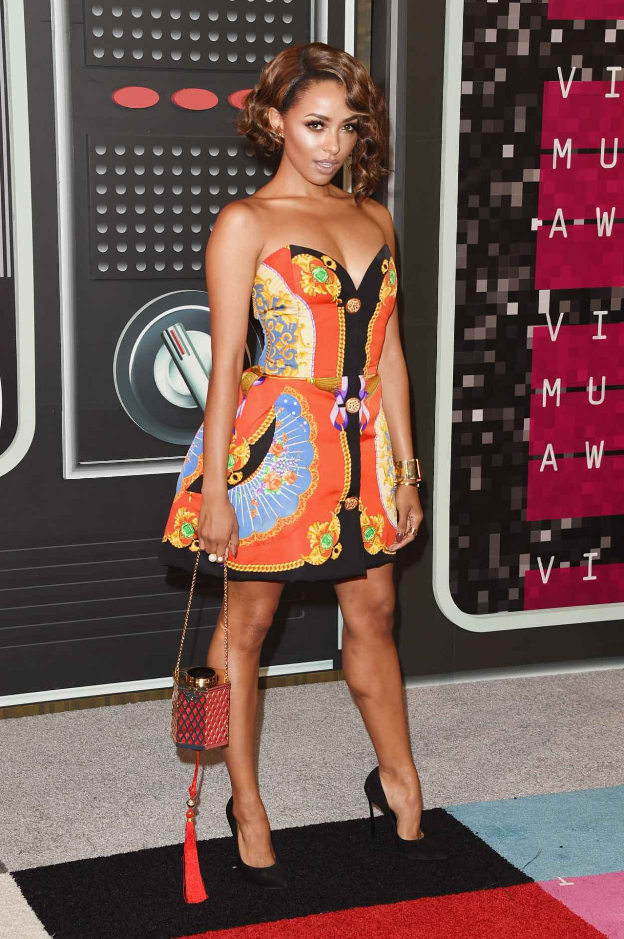 Kat Graham - 2015 MTV Video Music Awards at Microsoft Theater in Los Angeles-5