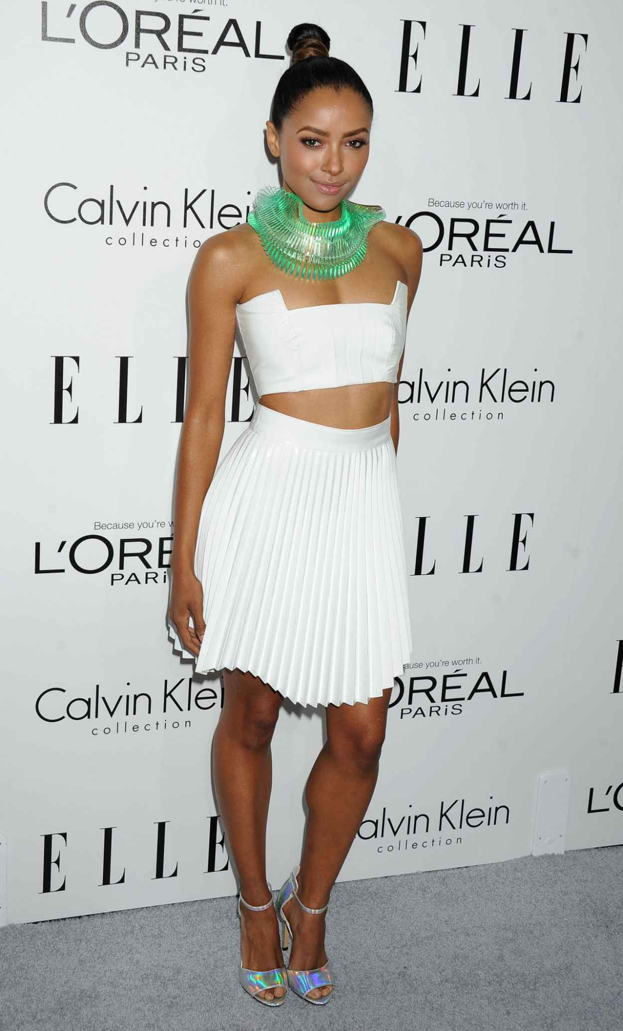 Kat Graham on Red Carpet - ELLEs 20th Women In Hollywood Celebration in Beverly Hills-1