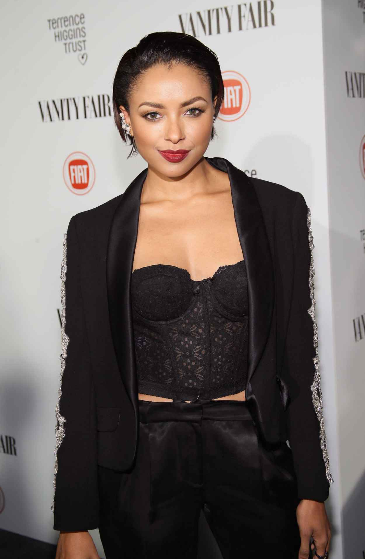 Kat Graham - Vanity Fair and FIAT celebration of Young Hollywood in Los Angeles, February 2015-1