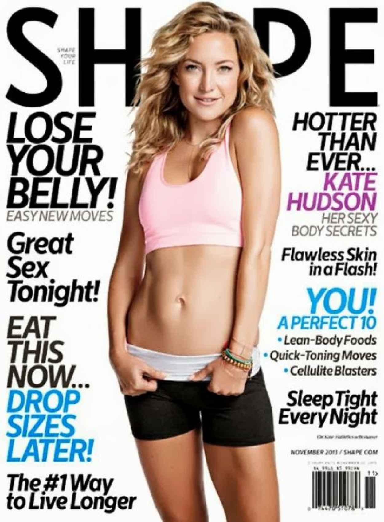 Kate Hudson in SHAPE Magazine-1