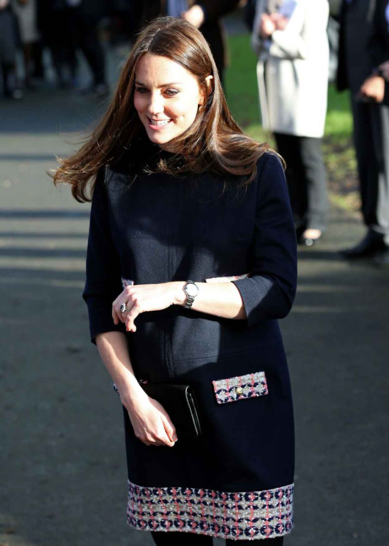 Kate Middleton at Barlby Primary School in London, January 2015-1