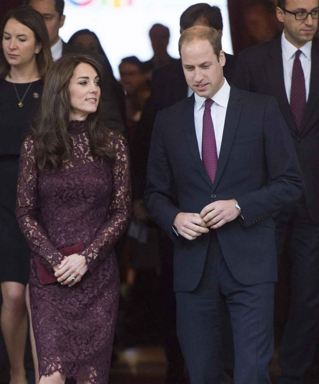 Kate Middleton - Chinese State visit in London - October 2015-2
