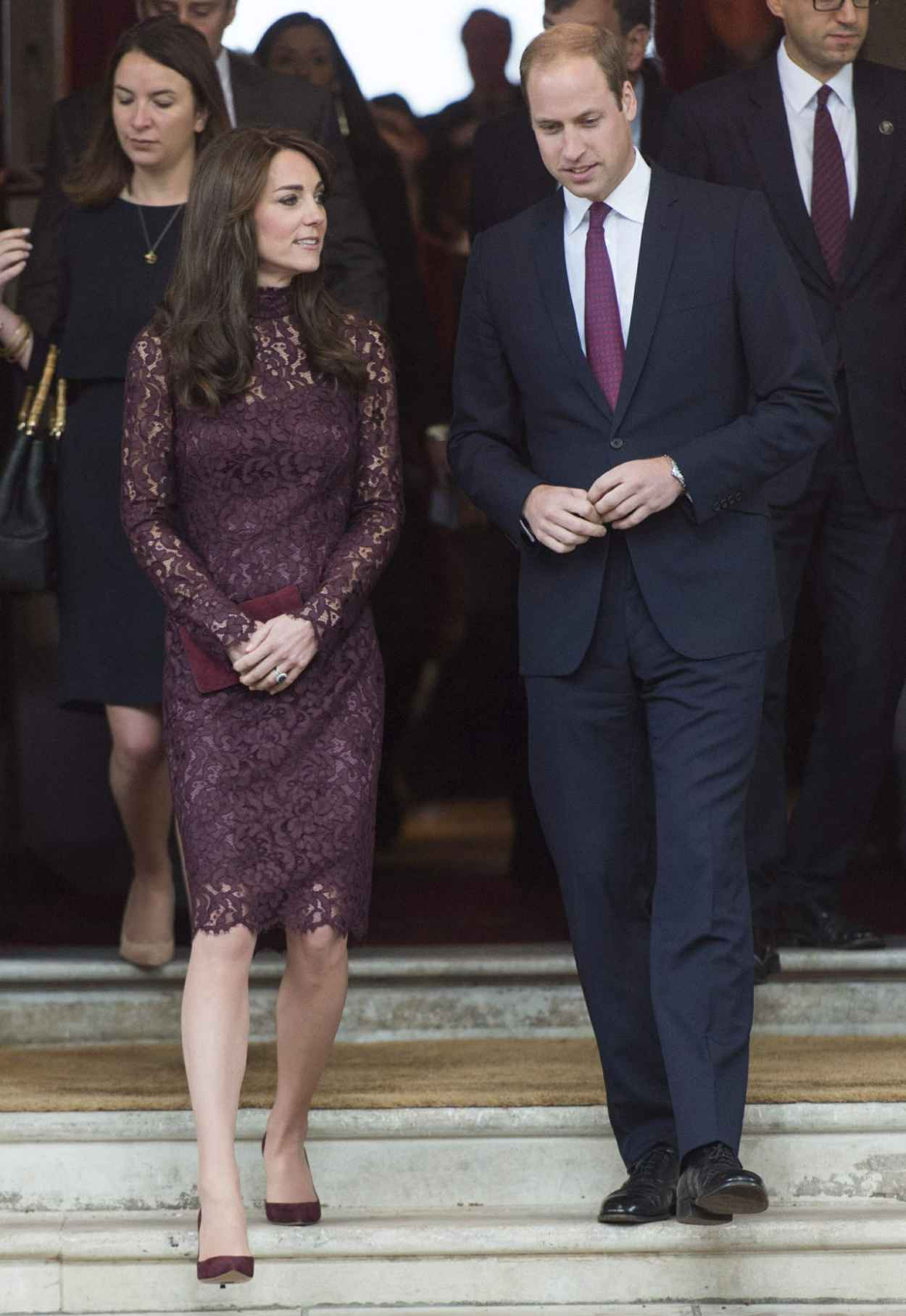 Kate Middleton - Chinese State visit in London - October 2015-3