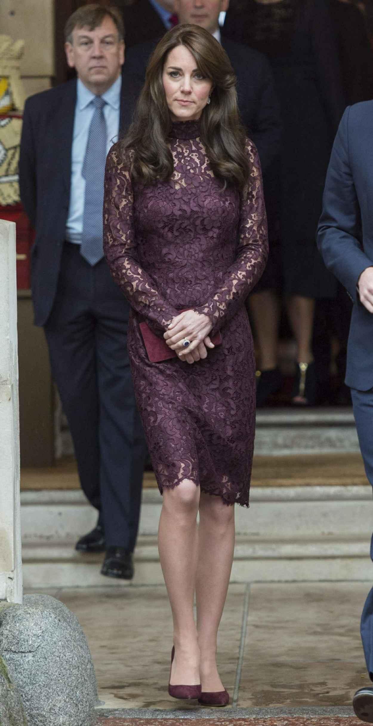 Kate Middleton - Chinese State visit in London - October 2015-4