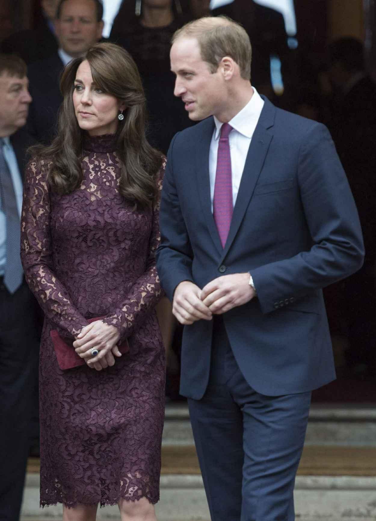 Kate Middleton - Chinese State visit in London - October 2015-5