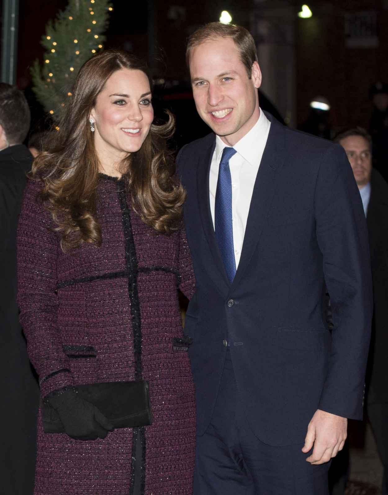Kate Middleton (Duchess of Cambridge) and Prince William at The Carlyle Hotel in New York City - December 2015-1