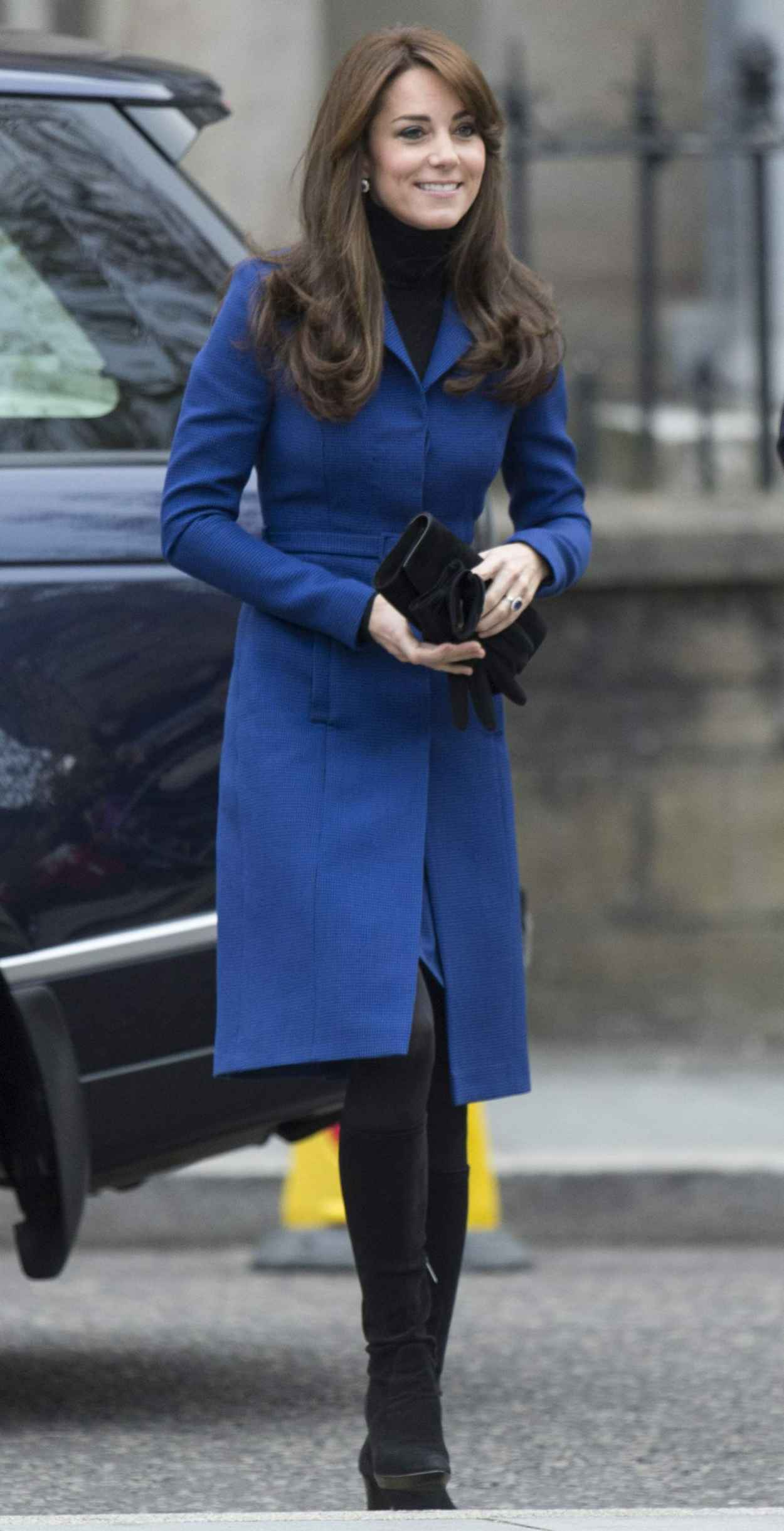 Kate Middleton - Her First Official Cisit to Dundee, October 2015-2