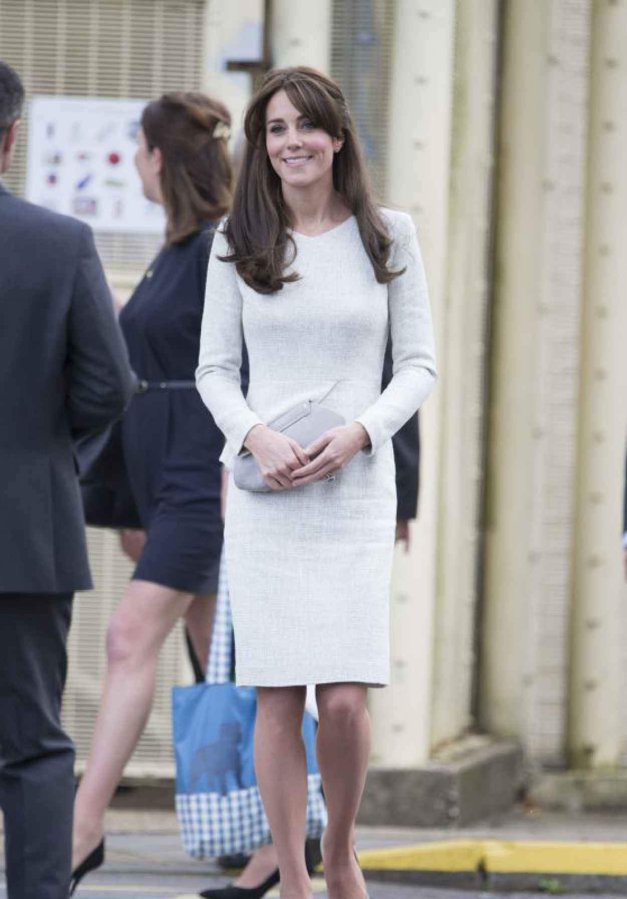 Kate Middleton Style - Visits Rehabilitation Of Addicted Prisoners Trust At HMP Send in Woking-1