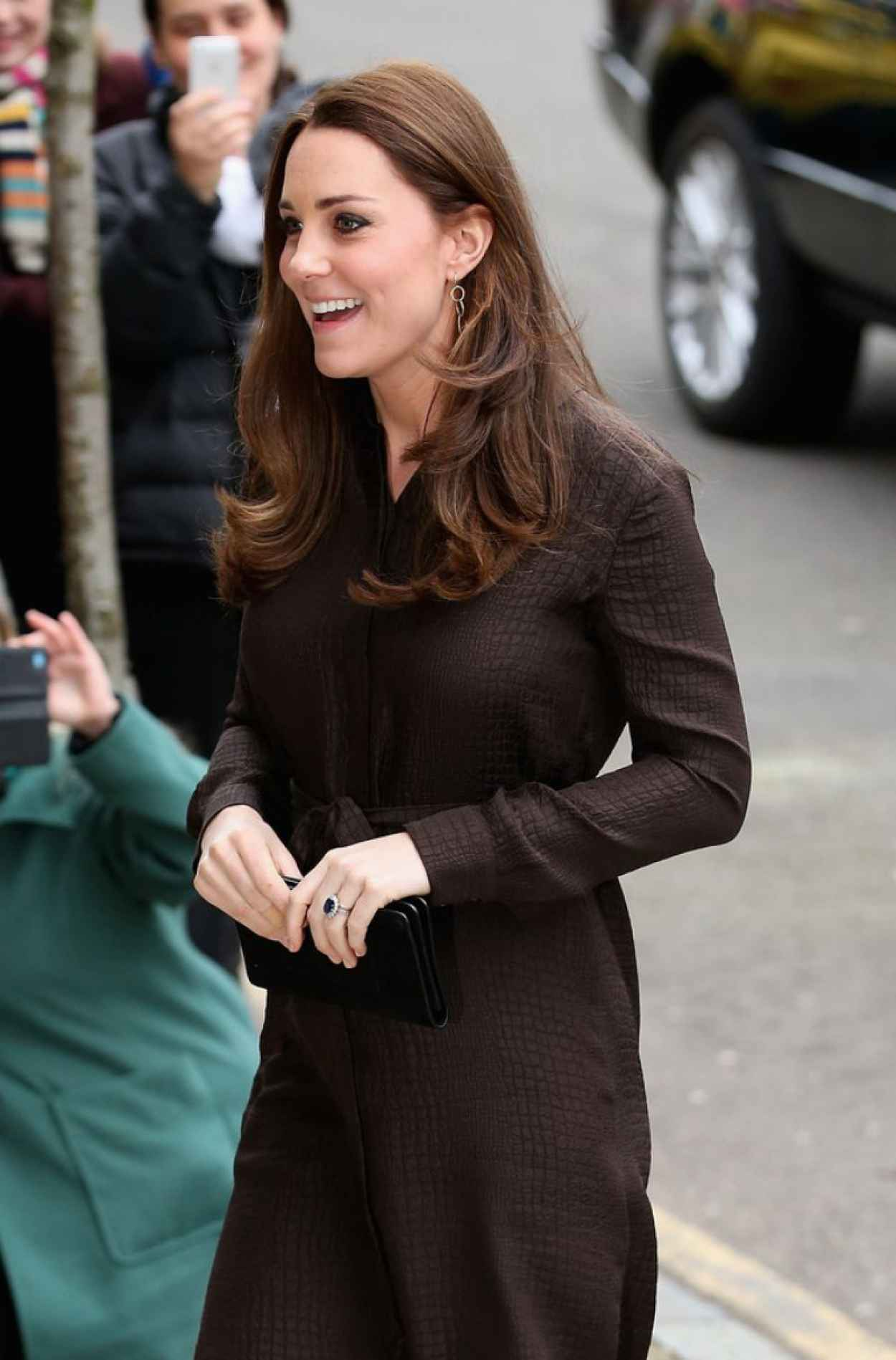 Kate Middleton Style - Visits The Fostering Network in London-1