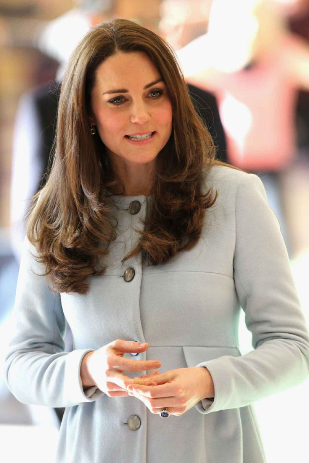 Kate Middleton Style - Visits The Kensington Leisure Centre in London-1