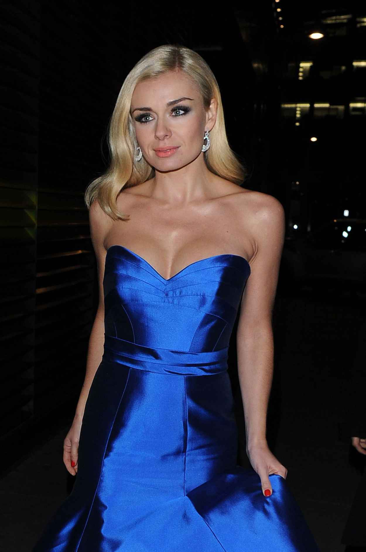 Katherine Jenkins Attends Martell Event at Brasserie Blanc Covent Garden - January 2015-1