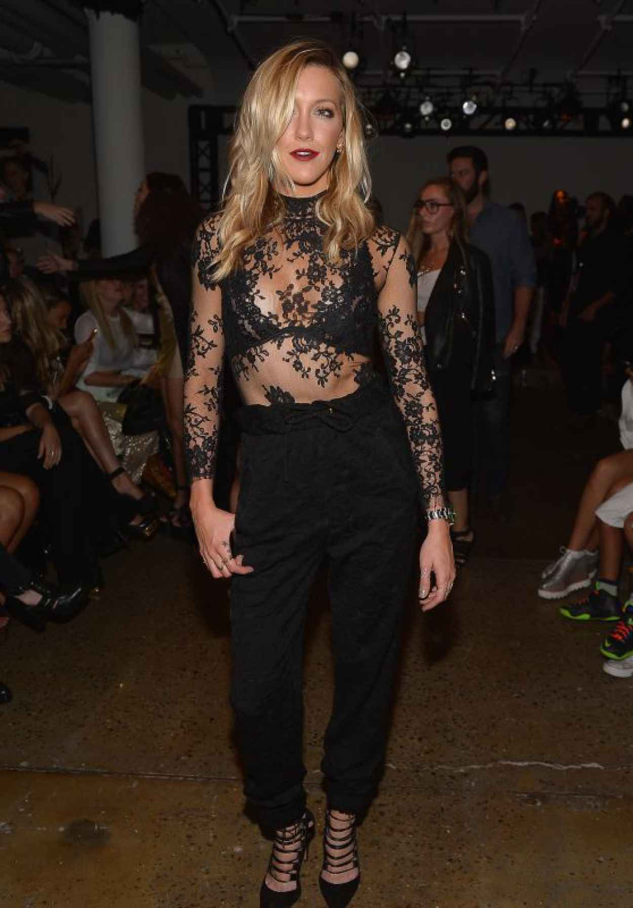 Katie Cassidy - Houghton Show at Spring 2016 NY Fashion Week-1