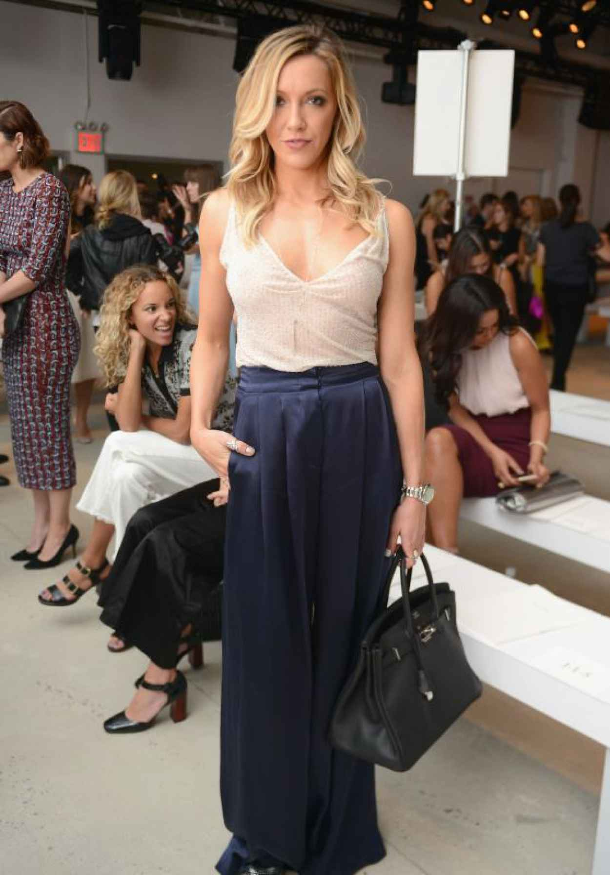 Katie Cassidy - Jenny Packham Show at New York Fashion Week, September 2015-1