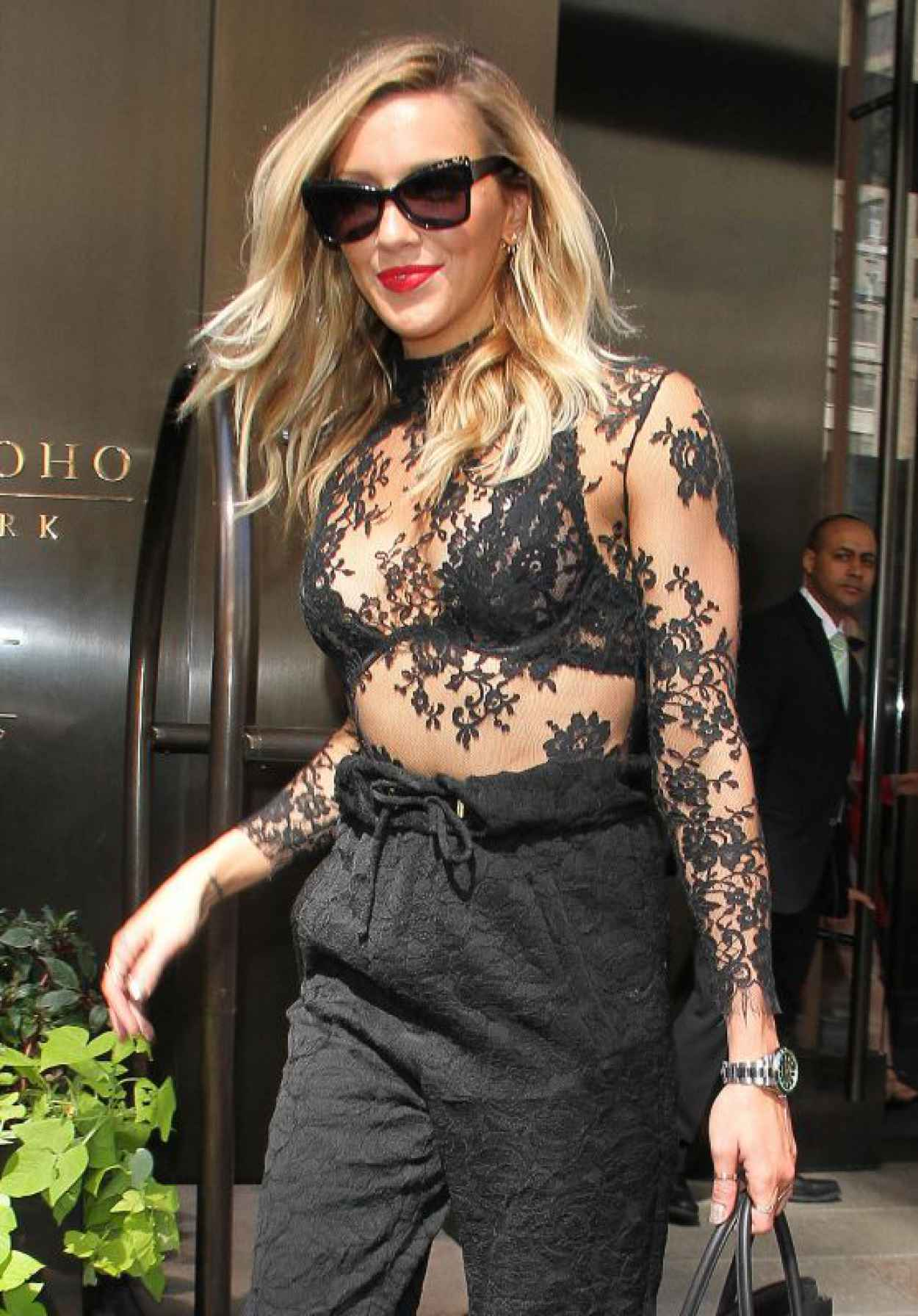 Katie Cassidy Leaving Her Hotel in New York City, September 2015-1