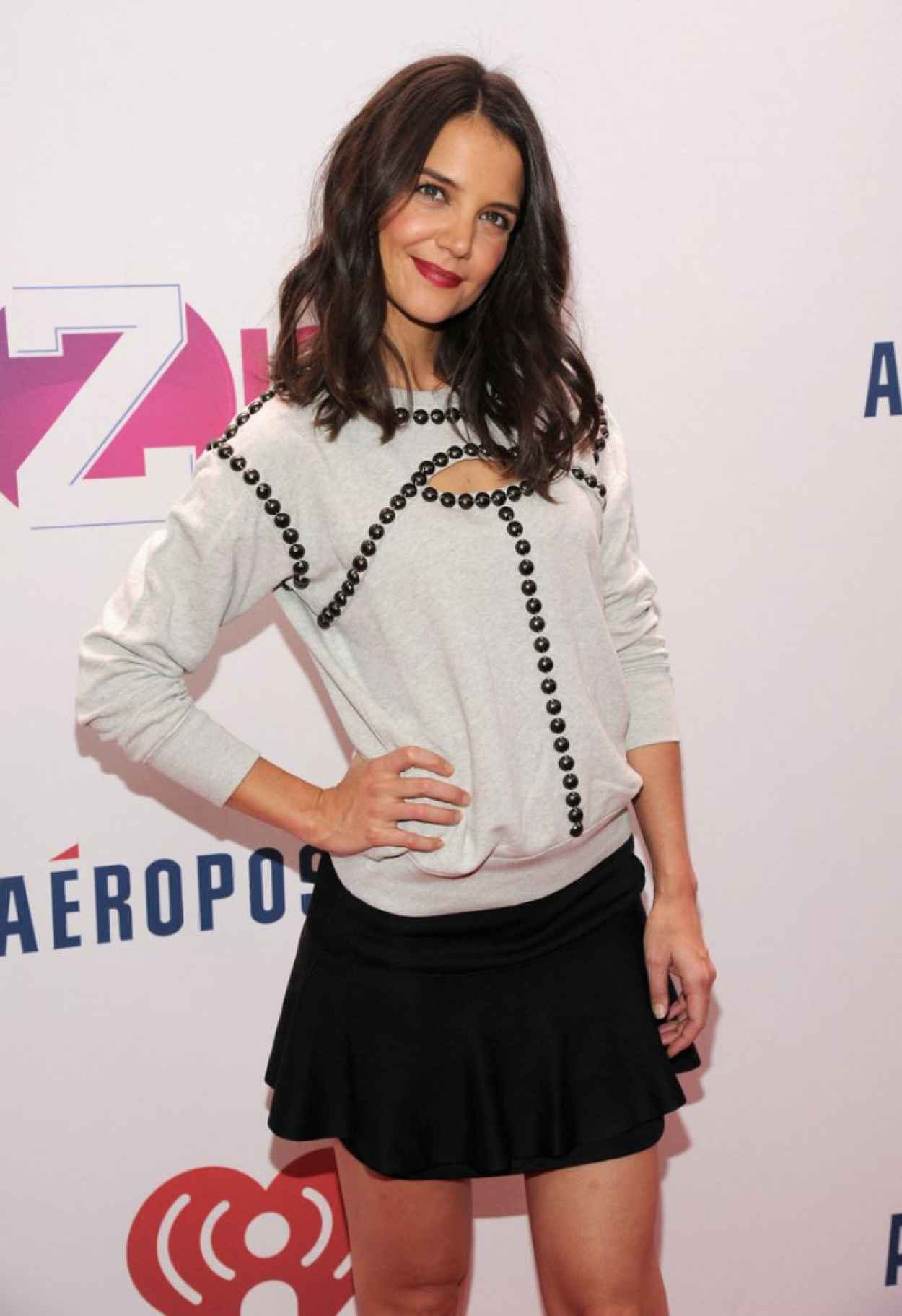 Katie Holmes Attends Z100 Jingle Ball in New York - December 2015-1