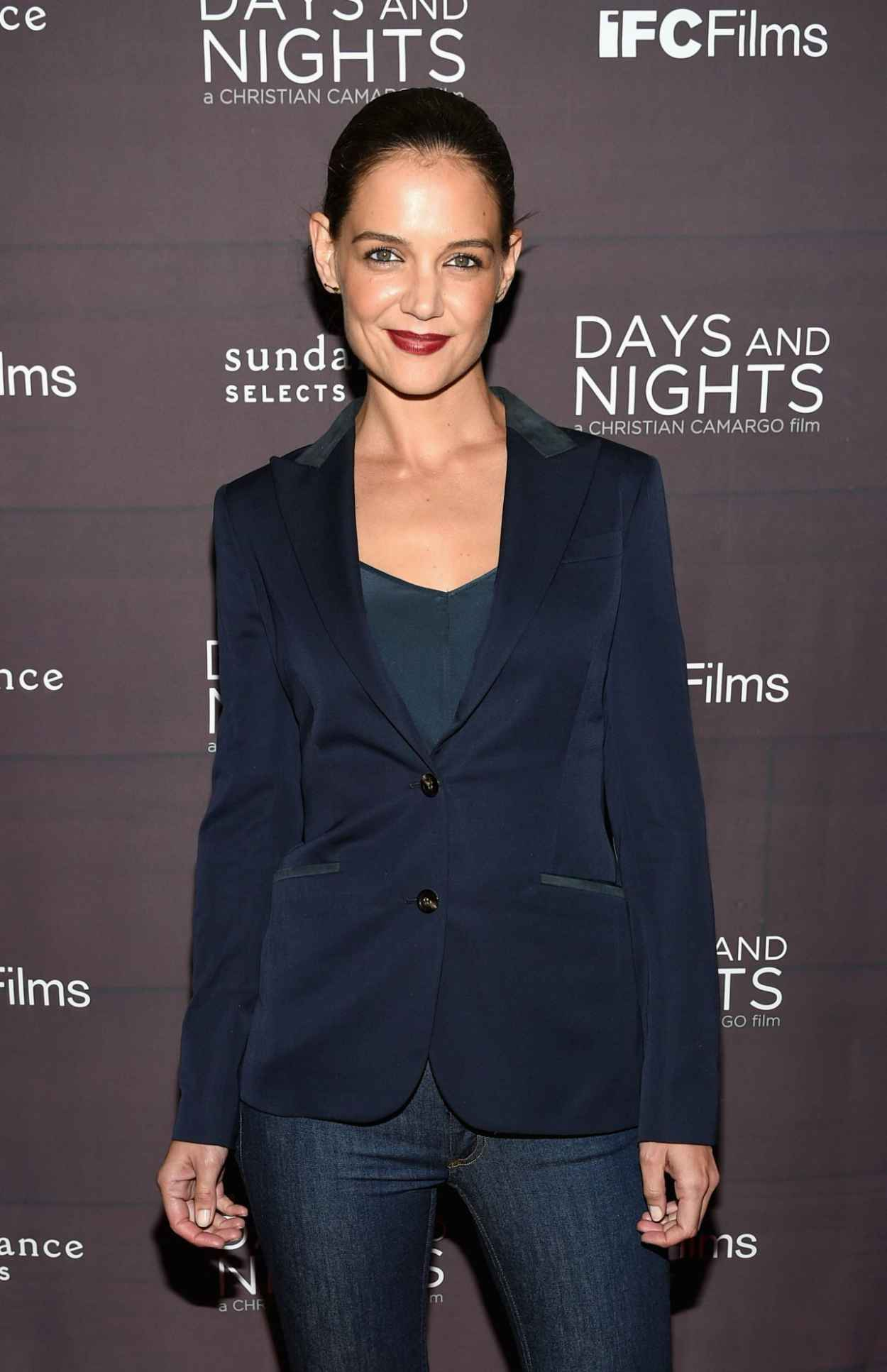 Katie Holmes Days And Nights Premiere In New York City