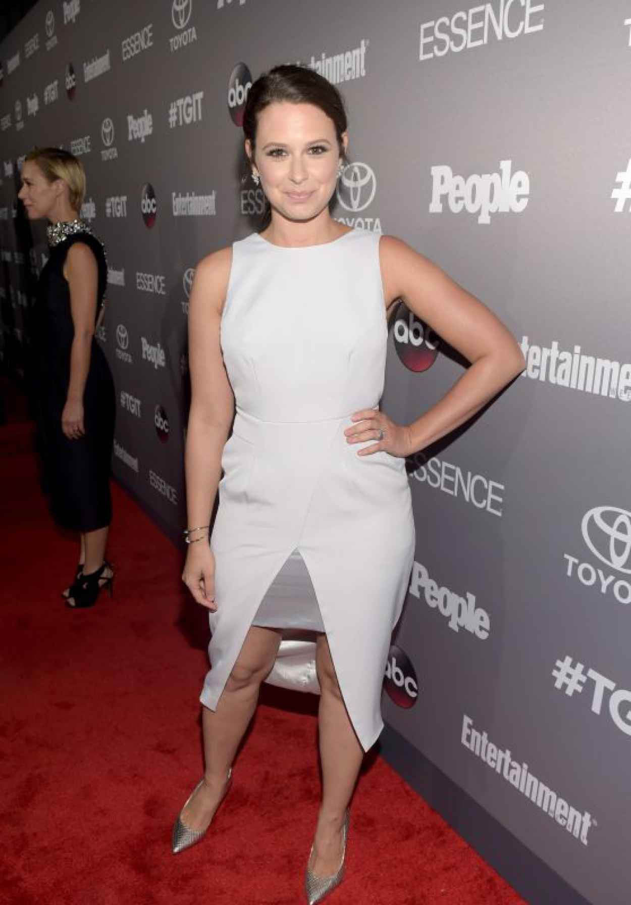 Katie Lowes - ABC-s TGIT Line-up Celebration in West Hollywood-1