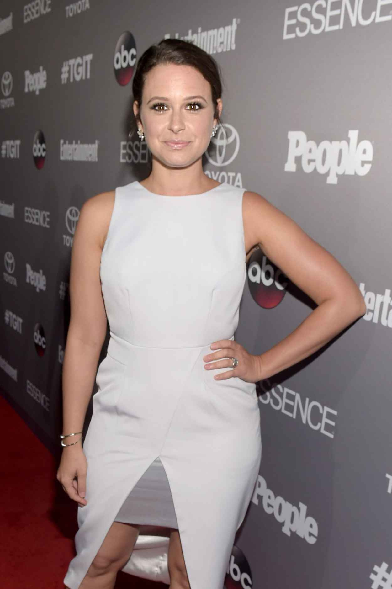 Katie Lowes - ABC-s TGIT Line-up Celebration in West Hollywood-2