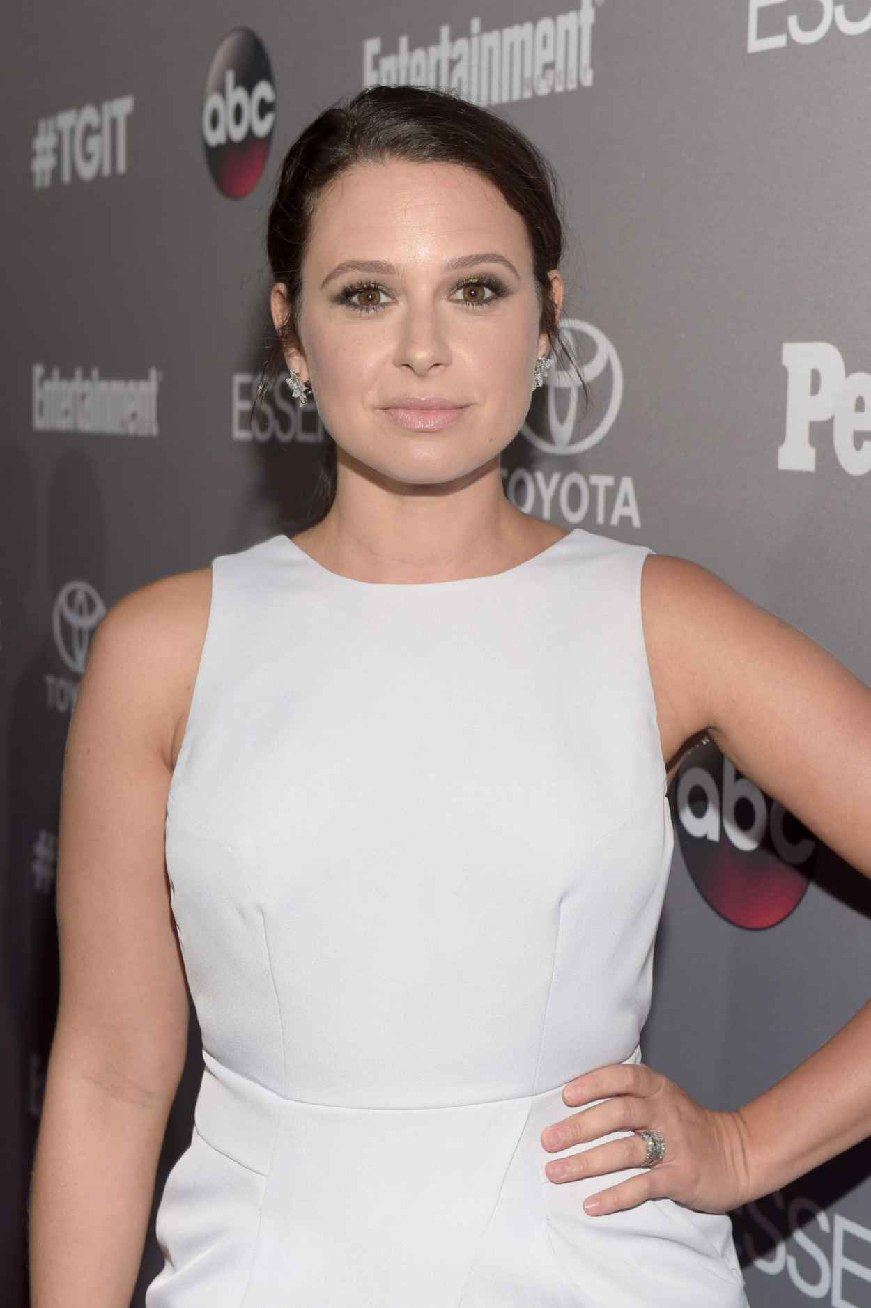 Katie Lowes - ABC-s TGIT Line-up Celebration in West Hollywood-3