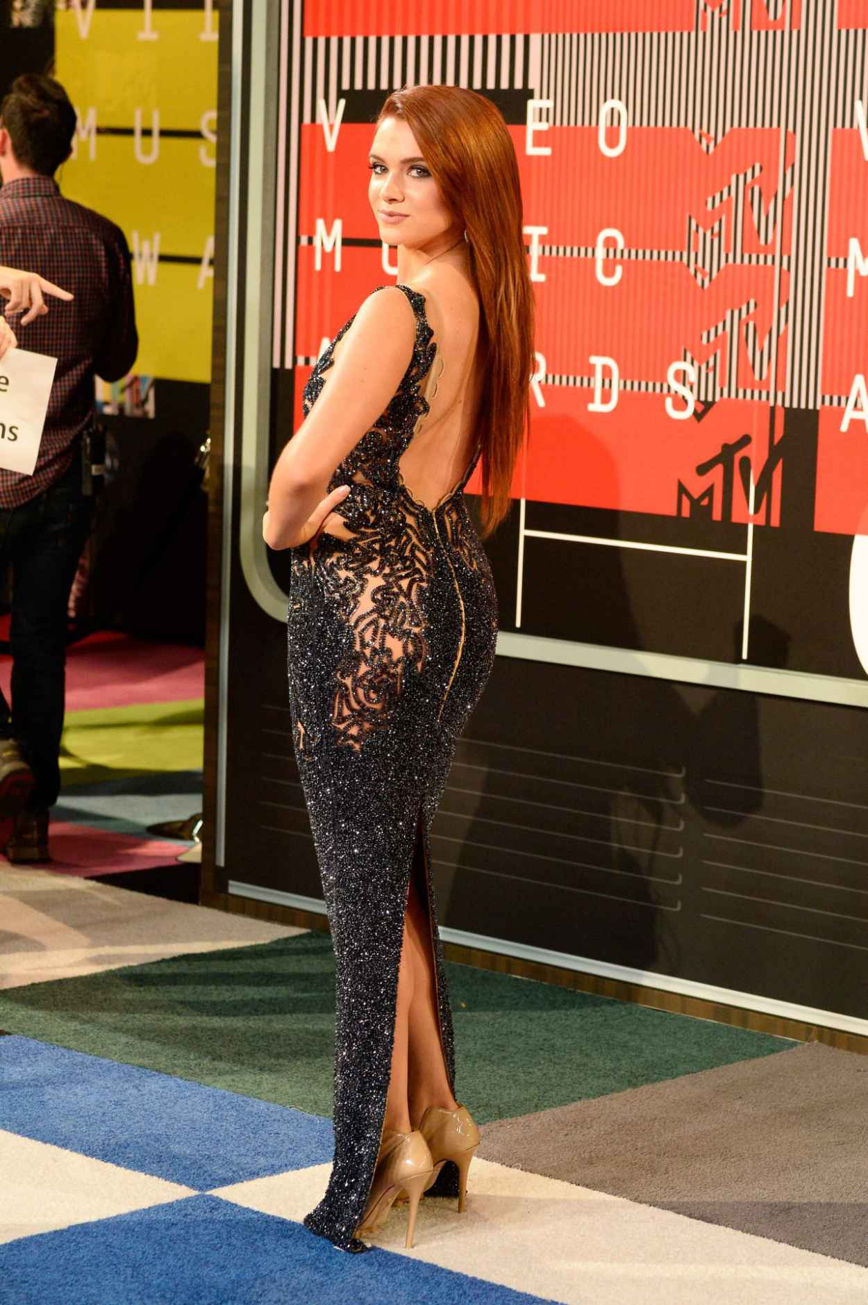 Katie Stevens - 2015 MTV Video Music Awards at Microsoft Theater in Los Angeles-3