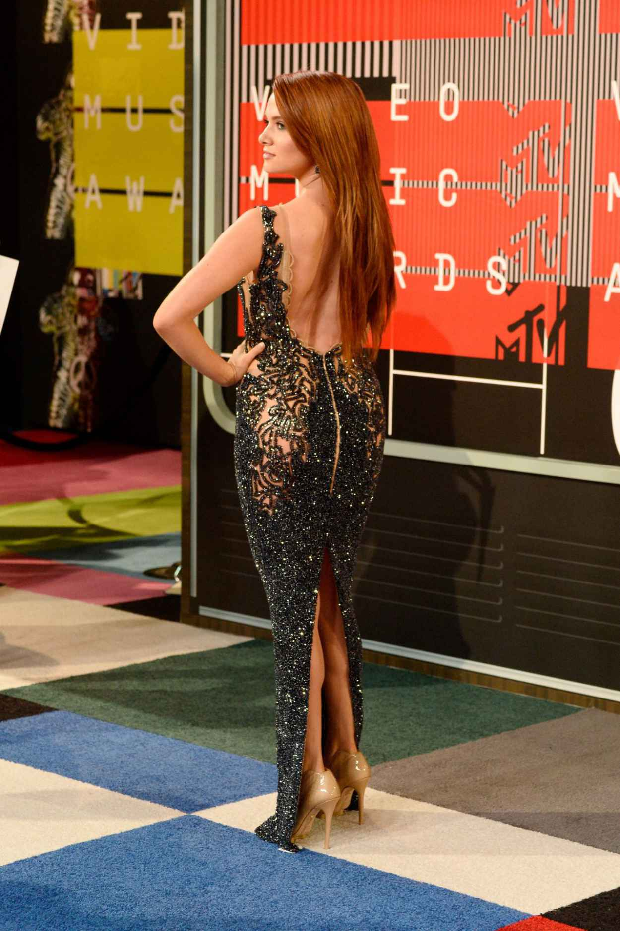 Katie Stevens - 2015 MTV Video Music Awards at Microsoft Theater in Los Angeles-4