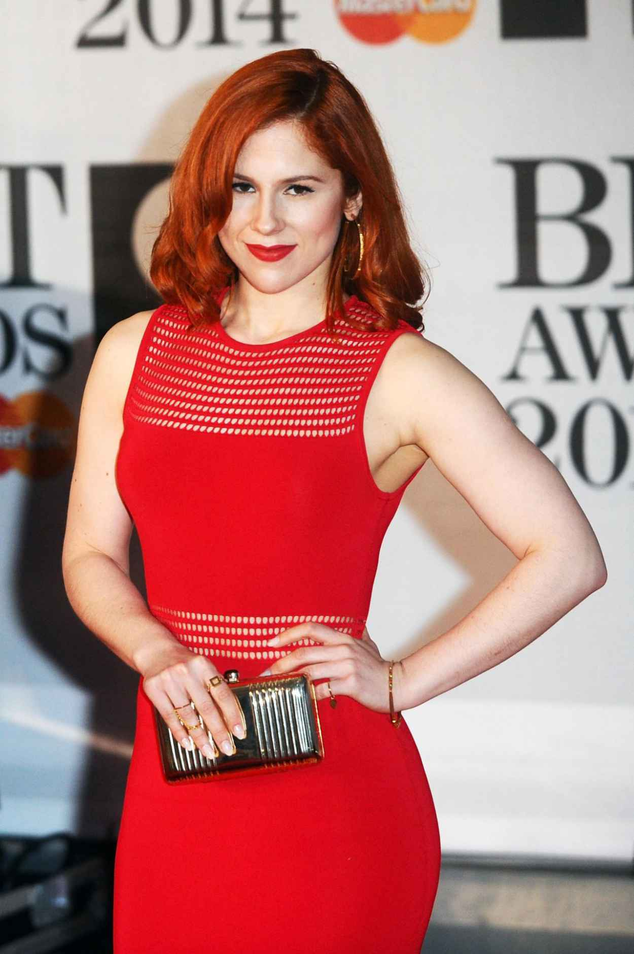 Katy B - The BRIT Awards 2015 at the 02 Arena in London-1