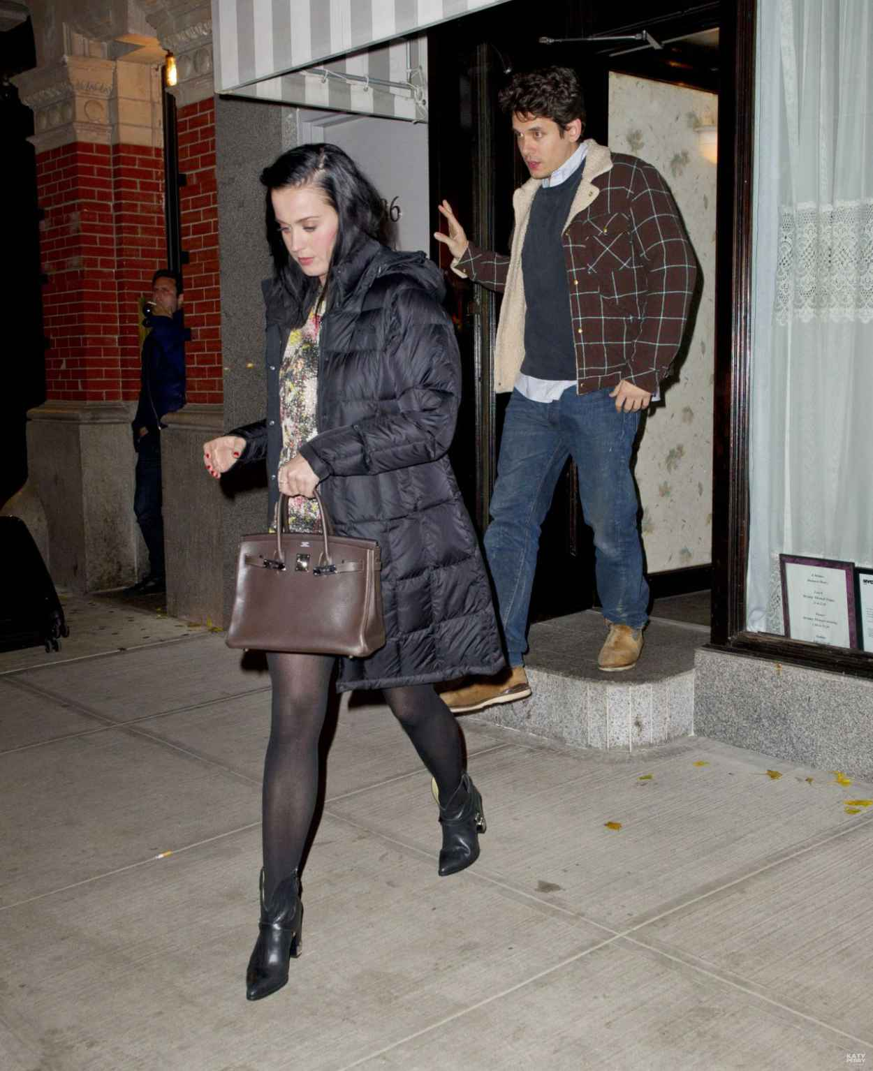 Katy Perry Street Style - Out For Dinner In New York - November 2015-1