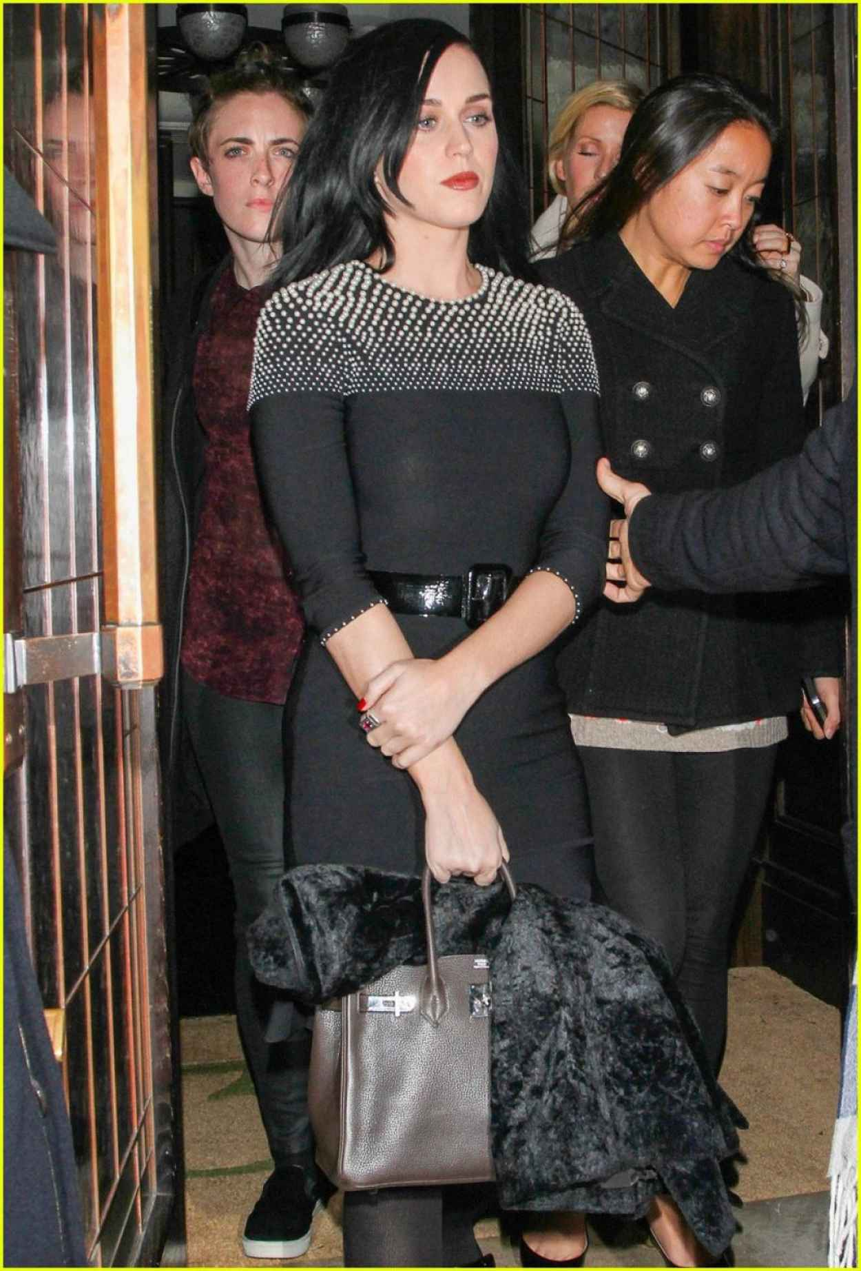 Katy Perry Style - Leaving Restaurant 34 in London - December 2015-1