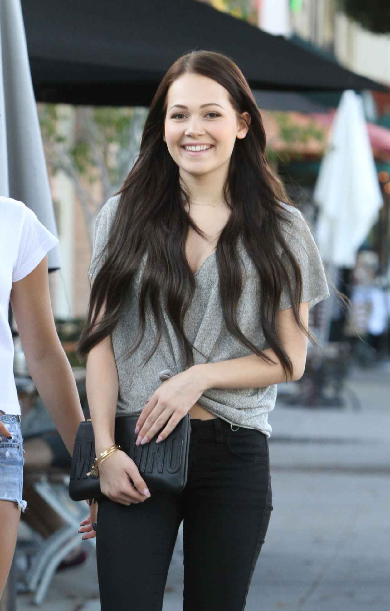 Kelli Berglund & Paris Berelc - Shopping in Los Angeles, September 2015-3