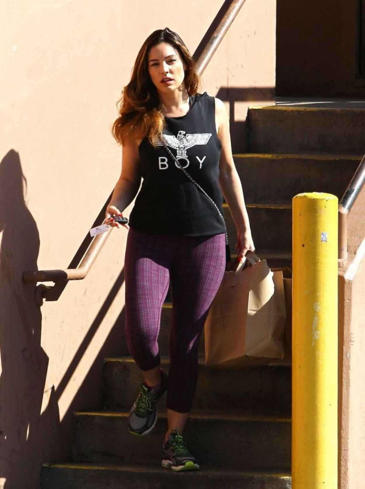 Kelly Brook Gym Style - West Hollywood, February 2015-3