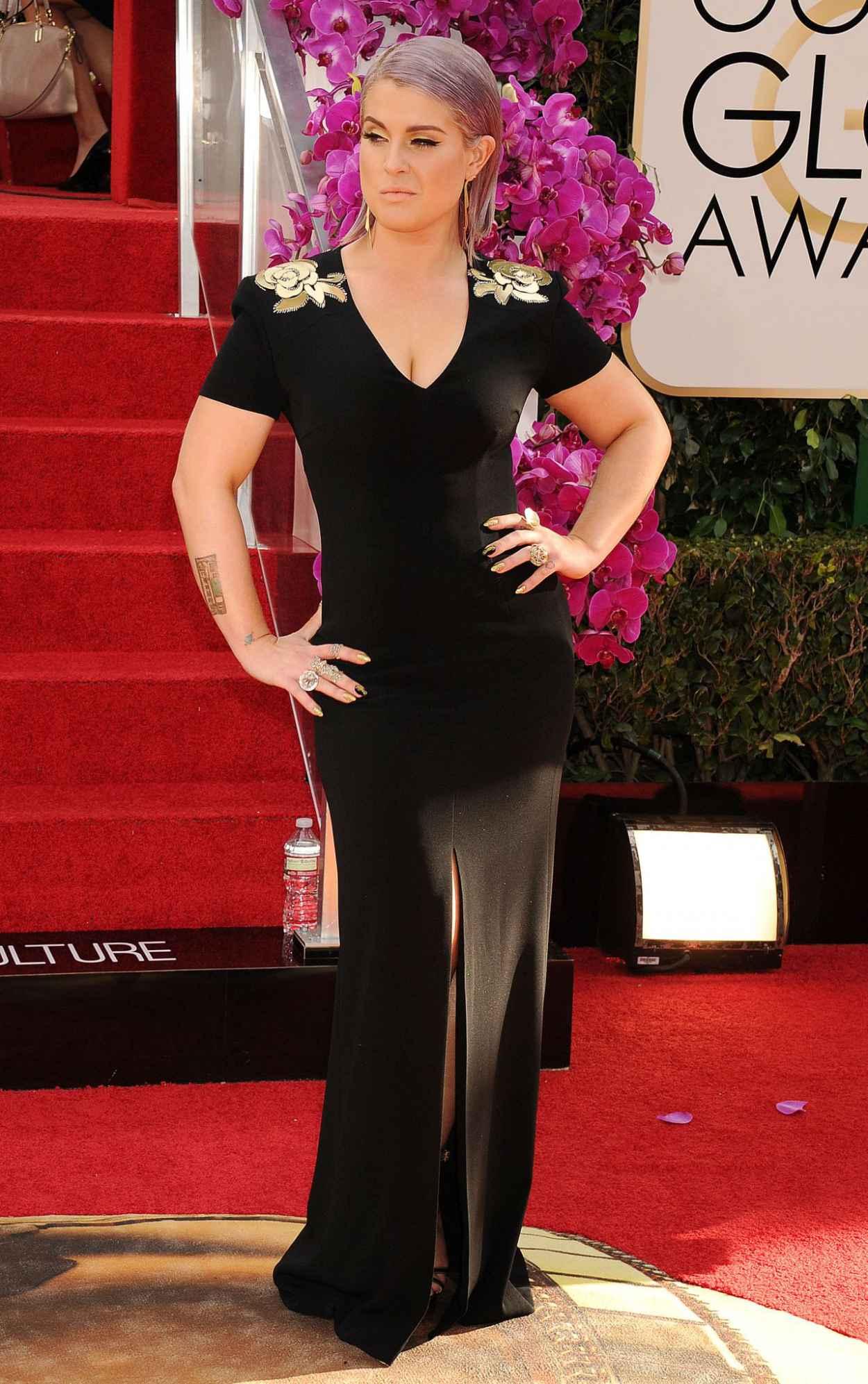 Kelly Osbourne at Golden Globe Awards 2015-1