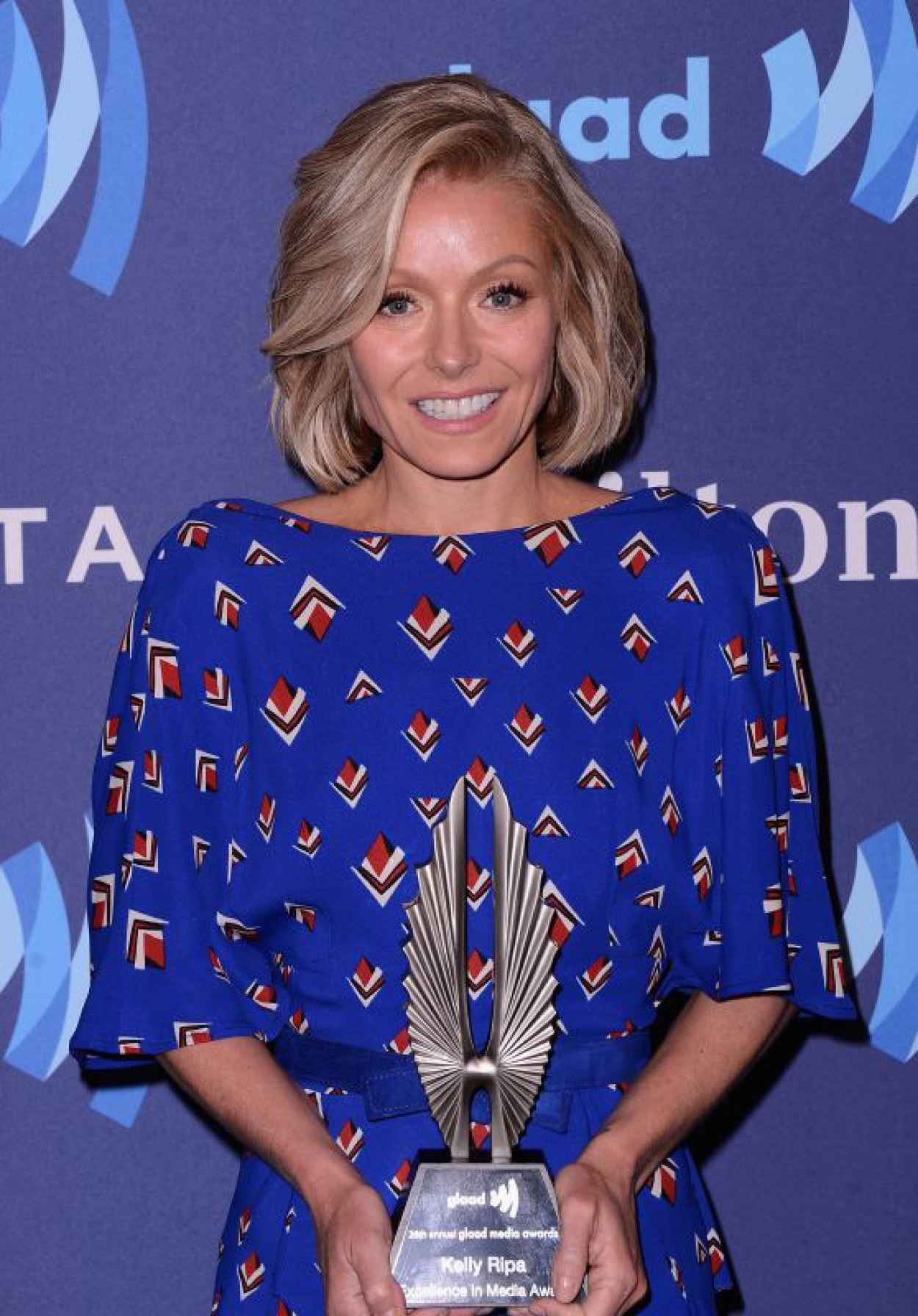Kelly Ripa - VIP Red Carpet Suite at the 26th Annual GLAAD Media Awards in New York-1