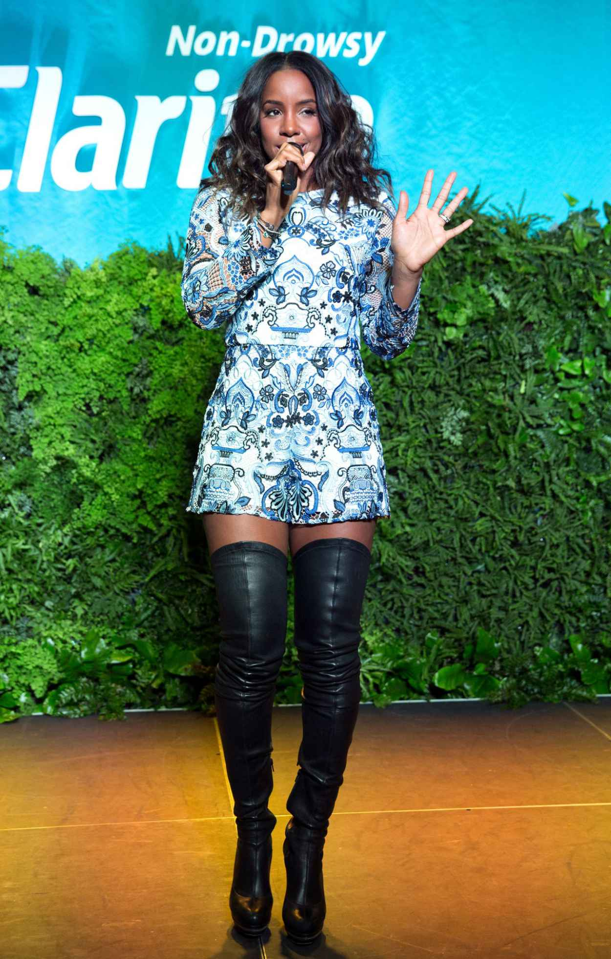 Kelly Rowland - Spring Kickoff With Claritin Event in New York City-1